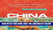 [Free Read] China - Culture Smart!: The Essential Guide to Customs   Culture Full Online