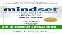 Ebook Mindset: The New Psychology of Success Free Read