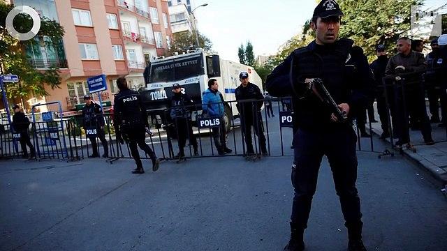 US swing states, Turkish arrests