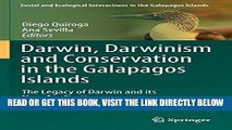 [Free Read] Darwin, Darwinism and Conservation in the Galapagos Islands: The Legacy of Darwin and