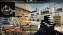 RIP KNIFE + SKINS! CS GO OVERWATCH HACKER! Funny Counter Strike Global Offensive VAC WALL HACKER