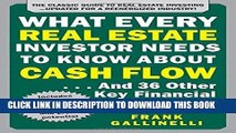 Ebook What Every Real Estate Investor Needs to Know About Cash Flow... And 36 Other Key Financial
