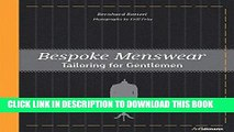 Best Seller Bespoke Menswear: Tailoring for Gentleman Free Download