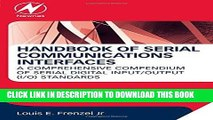 Read Now Handbook of Serial Communications Interfaces: A Comprehensive Compendium of Serial