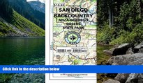 READ NOW  Recreation Map of the San Diego Backcountry: Waterproof, synthetic paper (Tom Harrison