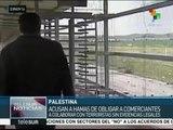 Acusan a Hamas de obligar a comerciantes a colaborar con terroristas