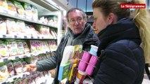 Saint-Brieuc. Les Faucheurs volontaires s'invitent dans les magasins
