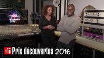 Kery James présente le lauréat du Prix Decouvertes RFI 2016
