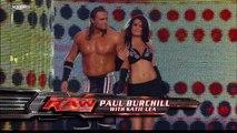 Paul Burchill (w/ Katie Lea) vs. Brian Kendrick
