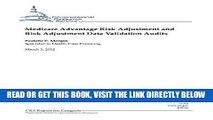 [FREE] EBOOK Medicare Advantage Risk Adjustment and Risk Adjustment Data Validation Audits BEST