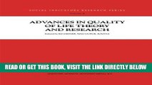 [FREE] EBOOK Advances in Quality of Life Theory and Research (Social Indicators Research Series)