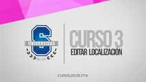 Editar Localización (SICAR Versión 2.2)