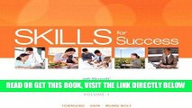 [FREE] EBOOK Skills for Success with Office 2013 Volume 1 (Skills for Success, Office 2013) BEST