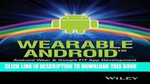 [PDF] Wearable Android: Android Wear and Google FIT App Development Full Colection