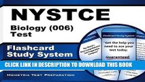 Best Seller NYSTCE Biology (006) Test Flashcard Study System: NYSTCE Exam Practice Questions
