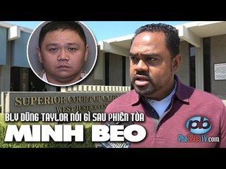 Dũng Taylor nhận định diễn biến phiên tòa điều đình vụ án Minh Béo