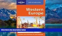 Books to Read  Western Europe: Lonely Planet Phrasebook  Full Ebooks Most Wanted