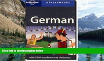 Big Deals  German: Lonely Planet Phrasebook  Full Ebooks Most Wanted