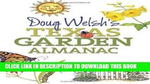 Best Seller Doug Welsh s Texas Garden Almanac (Texas A M AgriLife Research and Extension Service