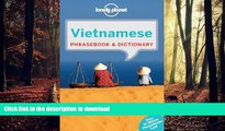 READ THE NEW BOOK Lonely Planet Vietnamese Phrasebook   Dictionary READ EBOOK