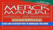 Ebook The Merck Manual of Medical Information: 2nd Home Edition (Merck Manual Home Health Handbook
