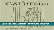 [BOOK] PDF The Student s Catullus (Oklahoma Series in Classical Culture Series) Collection BEST