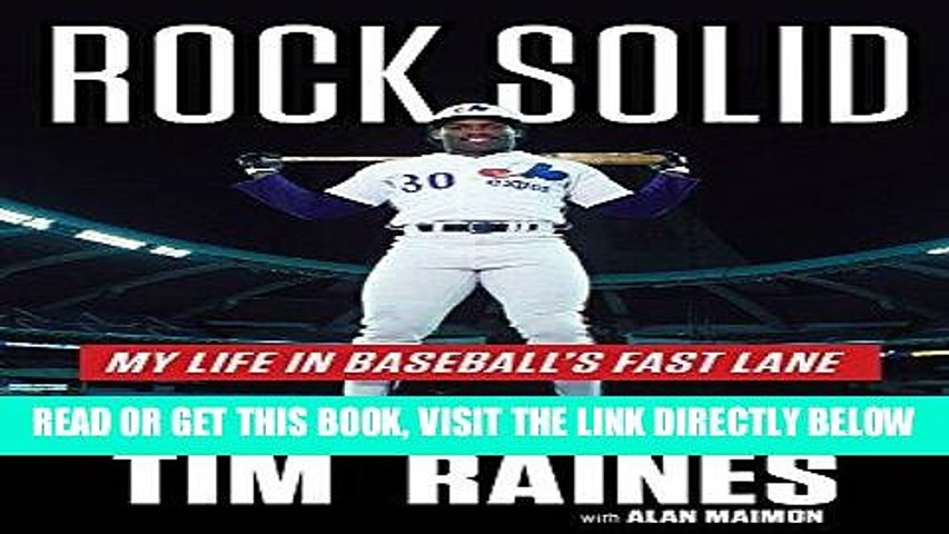 Rock Solid My Life in Baseballs Fast Lane