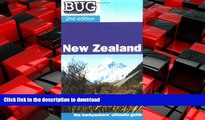 FAVORIT BOOK BUG New Zealand: The backpackers ultimate guide (Backpackers  Ultimate Guidebook: New