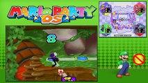 Mario Party DS - Story Mode - Part 75 - DKs Stone Statue (1/2) (Luigi) [NDS]