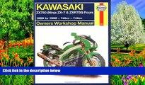 Big Deals  Haynes Kawasaki, ZX750 Ninjas ZX7 and ZXR 750 1989-1995 (Haynes Manuals)  Best Seller