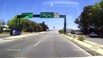 Quand tu croises une roue de voiture en pleine route.... WTF