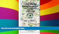 Must Have  Recreation Map of the San Diego Backcountry: Waterproof, synthetic paper (Tom Harrison