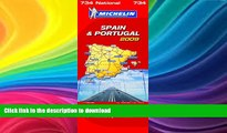 READ BOOK  Spain and Portugal 2009 2009 (Michelin National Maps)  PDF ONLINE