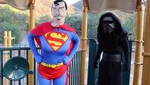 Superman vs Kylo Ren - Real Life Battle - Mom vs Son @Andrawiz