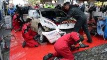 Rallye du Condroz 2016: La Peugeot 208 T16 de Princen à l'assistance