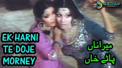 Mehnaz, Naheed Akhtar Ft. Shahid - Ek Harni Te Doje Morney Video Song | Mera Naam Patay Khan