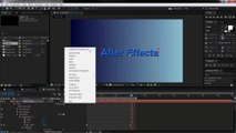 7 After Effects Text Animation - Per Character 3D