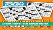 Read Now USA TODAY Crossword 3: 200 Puzzles from The Nation s No. 1 Newspaper (USA Today Puzzles)