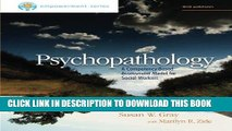 [FREE] EBOOK Brooks/Cole Empowerment Series: Psychopathology: A Competency-Based Assessment Model