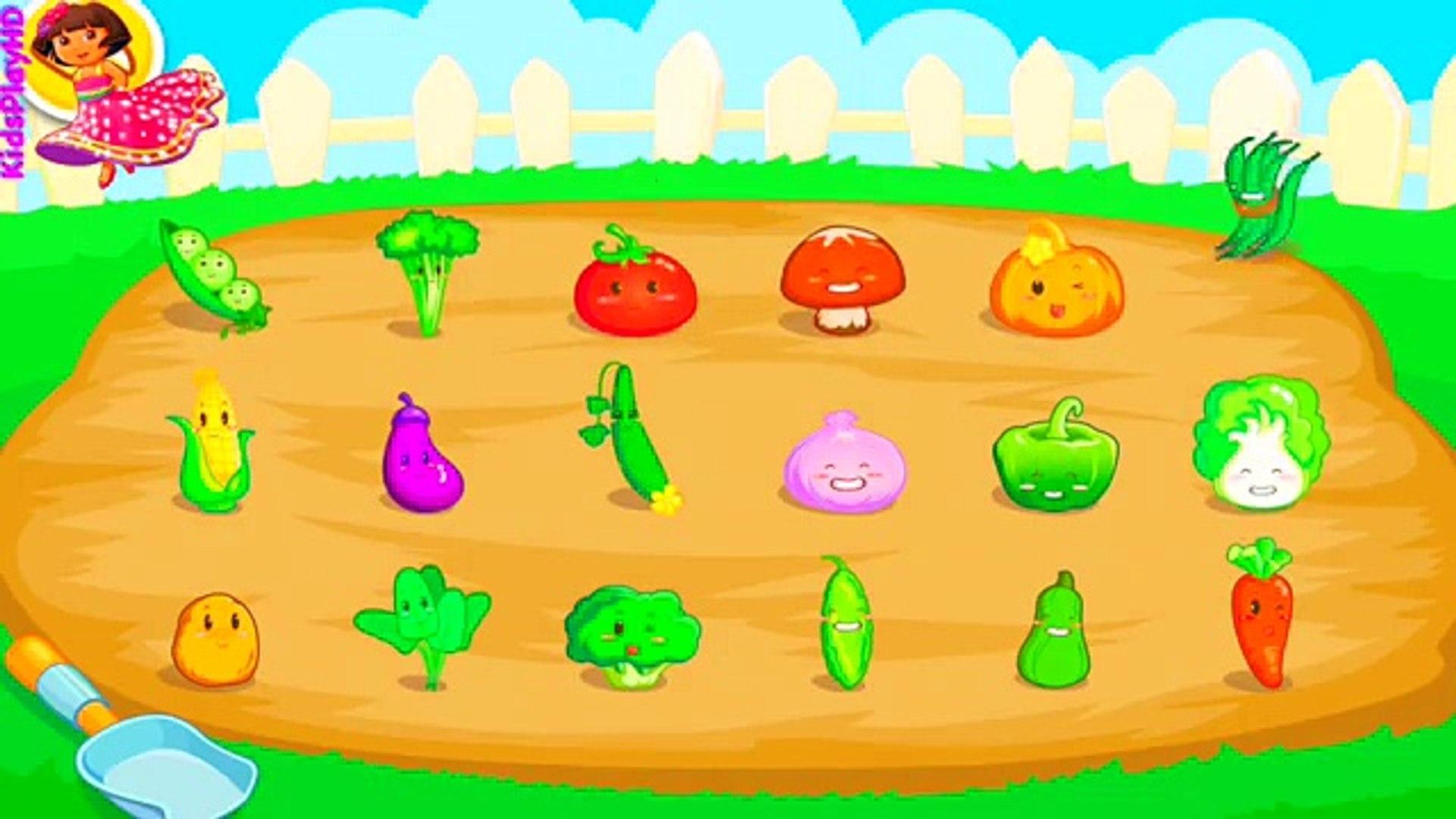 РАЗВИВАЮЩИЕ ИГРЫ. Овощи на грядке.ИГРЫ ДЛЯ ДЕТЕЙ | KIDS VIDEO | KIDS CHANNEL