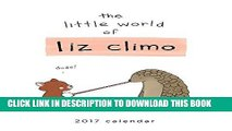 Best Seller The Little World of Liz Climo 2017 Wall Calendar Free Download