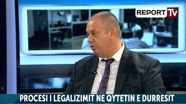 Report TV - Proçesi legalizimit në Durrës. flet drejtori i ALUZINIT Flamur Gjuzi