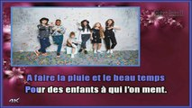 Kids United - Qui a le droit KARAOKE / INSTRUMENTAL