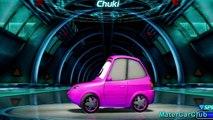 Chuki Disney Cars Color Changers Custom Paint Pixar Cars 2 Video