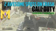 """Call Of Duty: Modern Warfare Remastered - 2 AWESOME Spots On Crash - """"COD MW Remastered Glitches"""""""