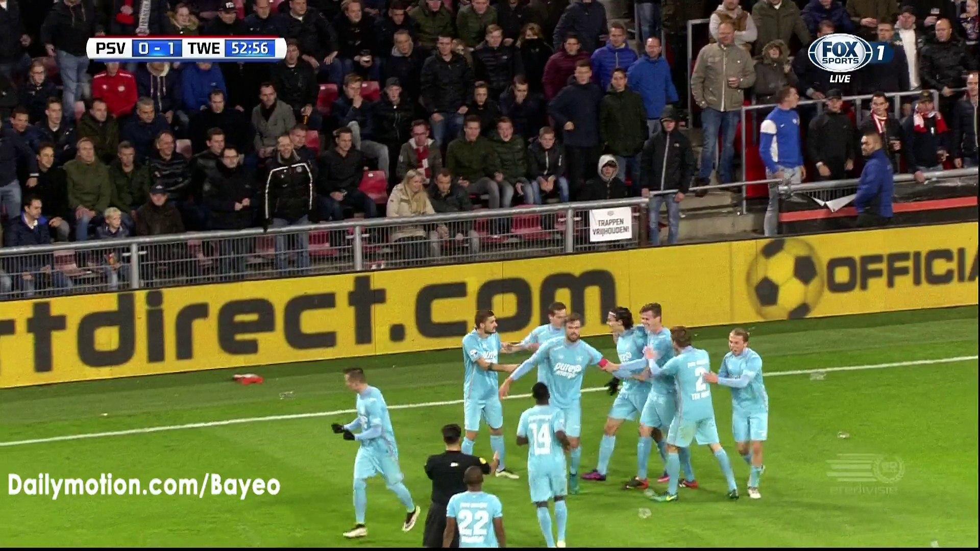 Enes Unal Goal HD - PSV Eindhoven 0-1 Twente - 05-11-2016
