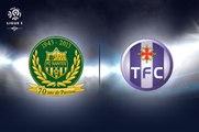 FC Nantes 1-1 Toulouse FC - Tous Les Buts , All Goals Exclusive (4.11.2016)