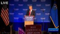 La vidéo de Donald Trump évacué cette nuit en plein meeting par les services secrets à Reno