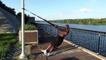 Bernard Doing His YIX Training Workout - 12 weeks transformation
