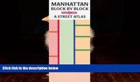 Big Deals  Manhattan Block by Block: A Street Atlas  Best Seller Books Most Wanted